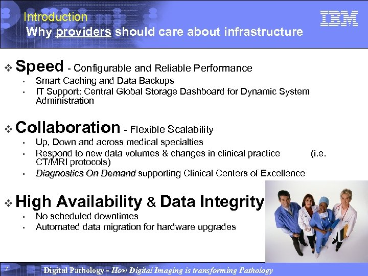 Introduction Why providers should care about infrastructure v Speed - Configurable and Reliable Performance