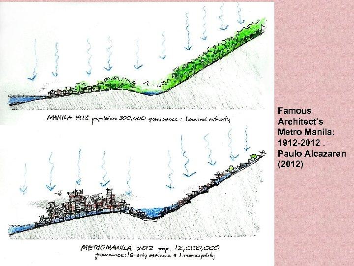 Famous Architect's Metro Manila: 1912 -2012. Paulo Alcazaren (2012)
