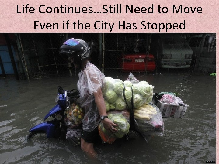 Life Continues…Still Need to Move Even if the City Has Stopped