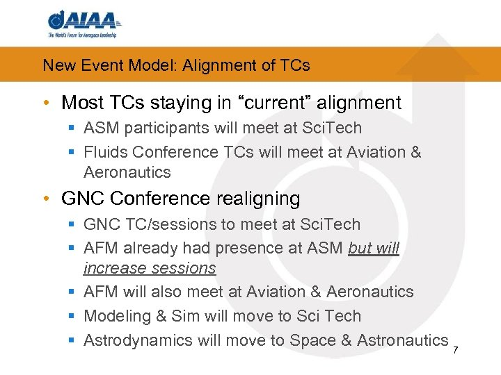 """New Event Model: Alignment of TCs • Most TCs staying in """"current"""" alignment §"""