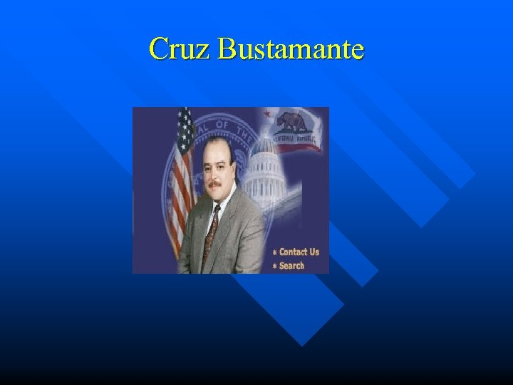 Cruz Bustamante