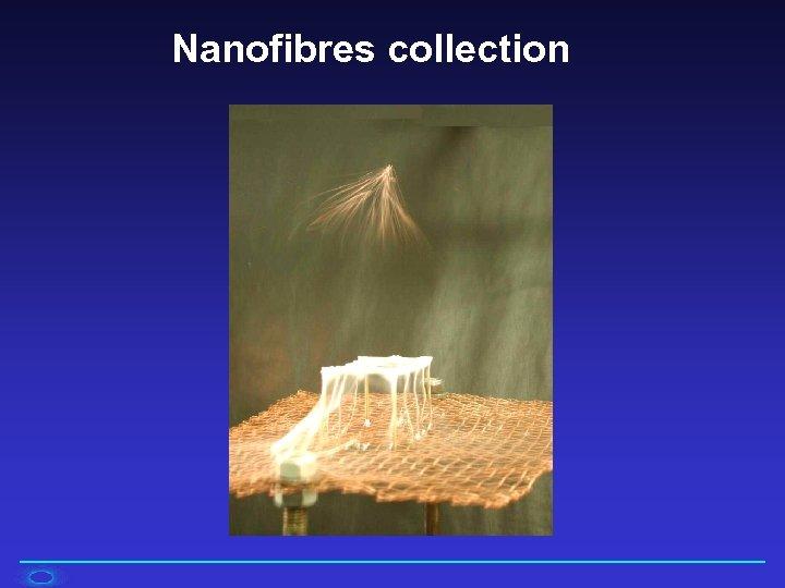 Nanofibres collection