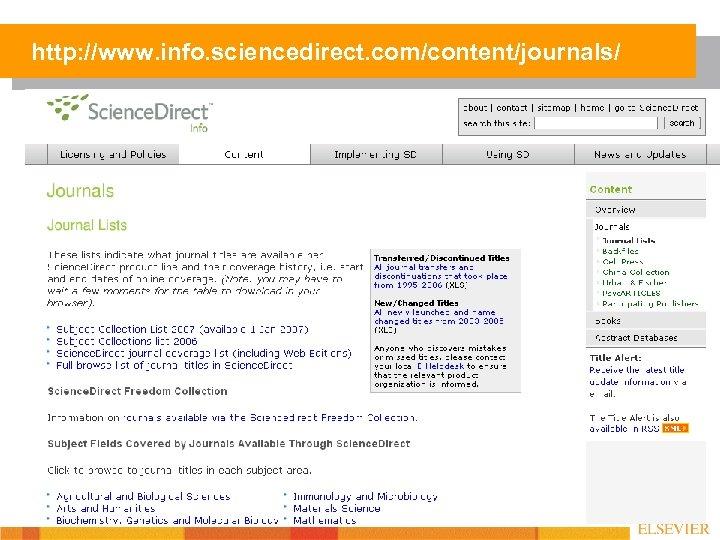 http: //www. info. sciencedirect. com/content/journals/