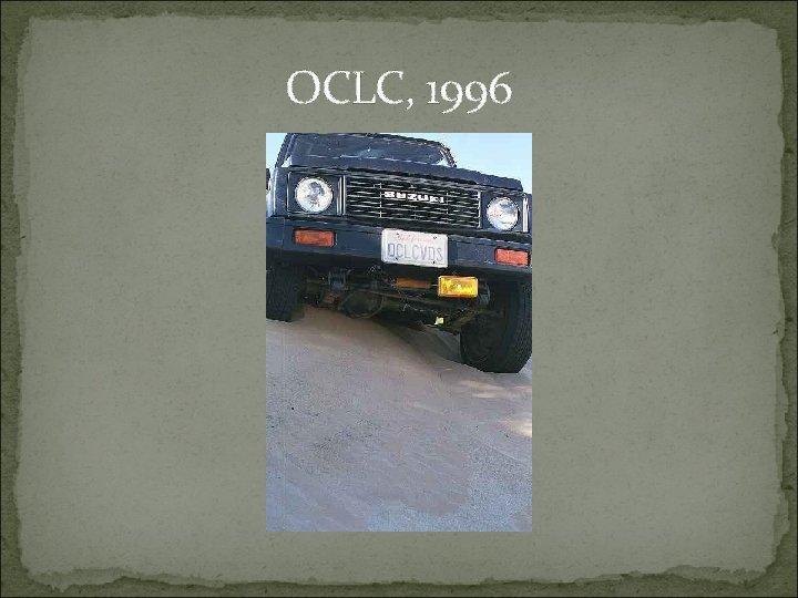 OCLC, 1996