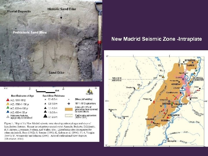 New Madrid Seismic Zone -Intraplate