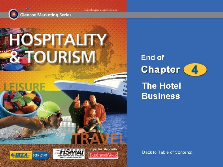End of The Hotel Business Back to Table of Contents