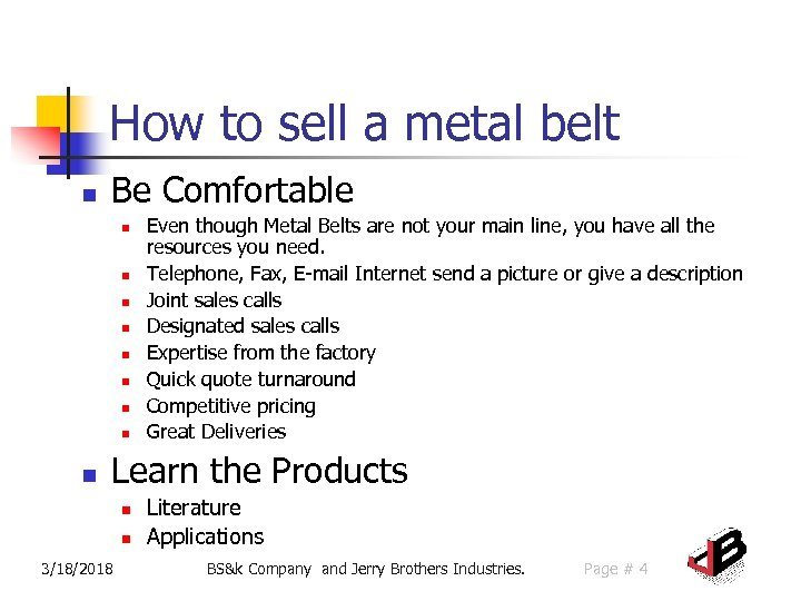 How to sell a metal belt n Be Comfortable n n n n n