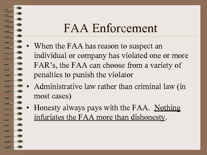 an introduction to the faa enforcement actions Anatomy of an faa enforcement action for illegal drone use welcome to dronelawpro today we're going to be talking about the big news yesterday the faa recommended a $19 m fine against commercial drone operator sky pan international.
