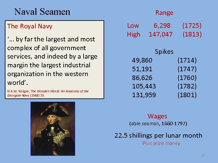 Naval Seamen The Royal Navy '… by far the largest and most complex of