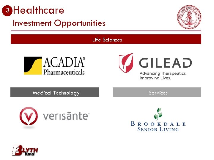 3 Healthcare Investment Opportunities Life Sciences Medical Technology Services