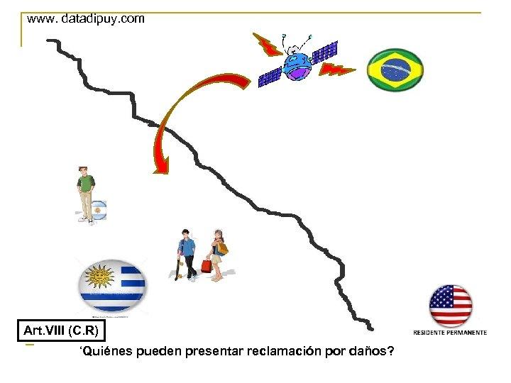 www. datadipuy. com Art. VIII (C. R) 'Quiénes pueden presentar reclamación por daños?