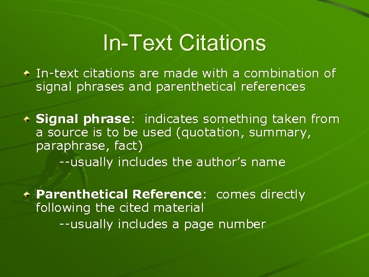 Mla Documentation In Text Citation And Works Cited