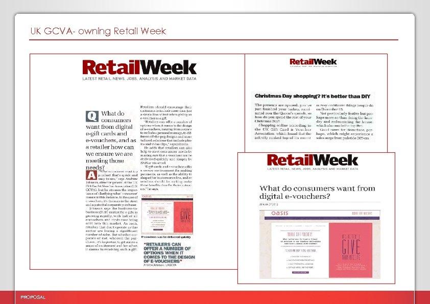 UK GCVA- owning Retail Week PROPOSAL