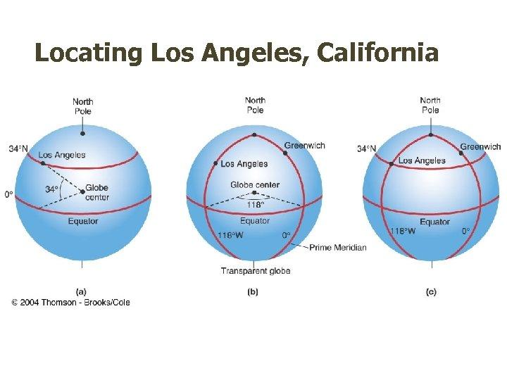 Locating Los Angeles, California