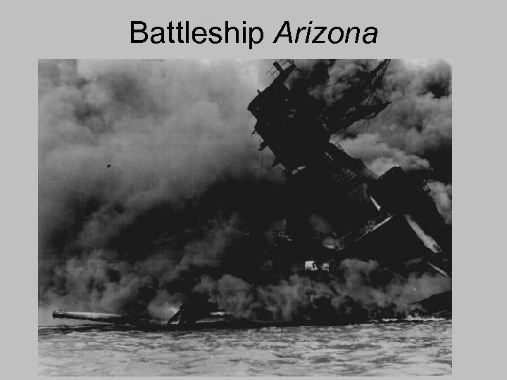Battleship Arizona