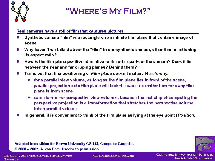 """""""Where's My Film? """" Real cameras have a roll of film that captures pictures"""
