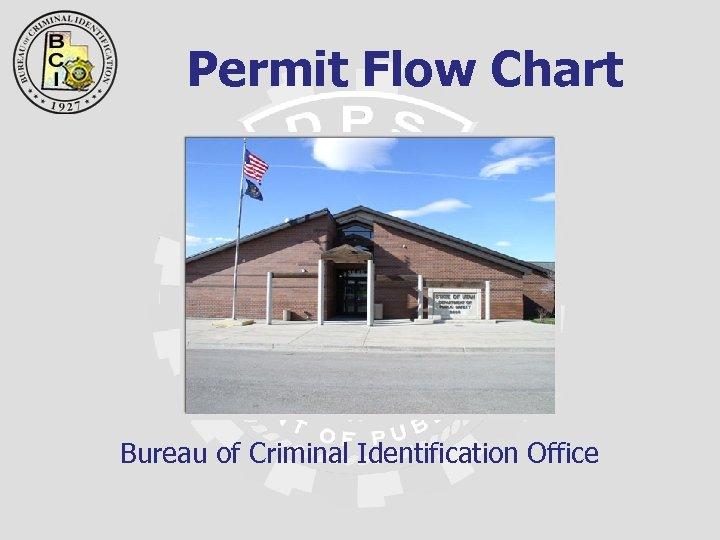 Permit Flow Chart Bureau of Criminal Identification Office