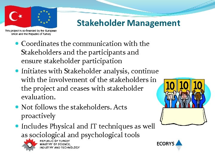 Stakeholder Management This project is co-financed by the European Union and the Republic of