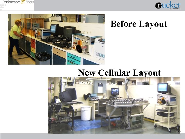 Before Layout New Cellular Layout 21