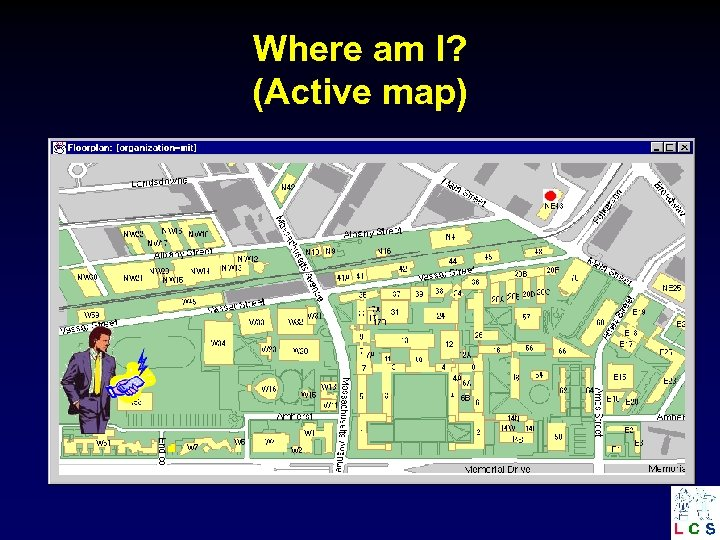 Where am I? (Active map)