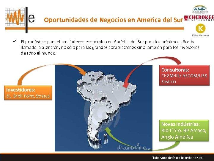 Oportunidades de Negocios en America del Sur ü El pronóstico para el crecimiento económico
