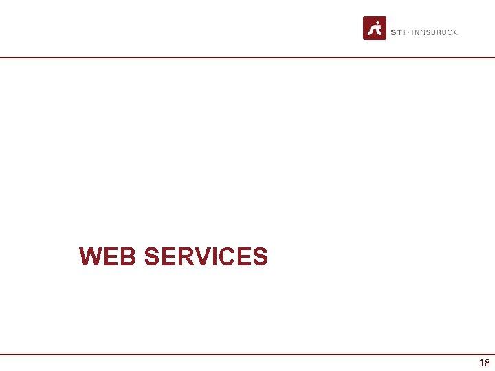 WEB SERVICES 18