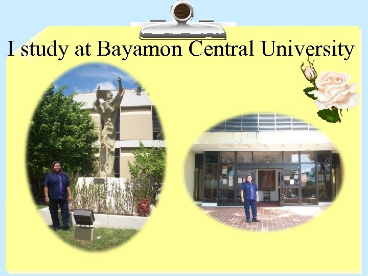 I study at Bayamon Central University