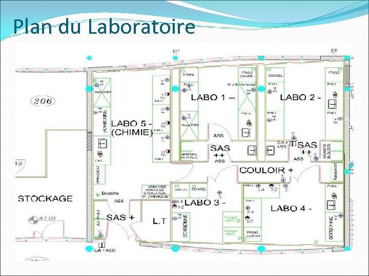 Plan du Laboratoire