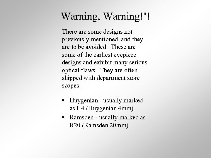 Warning, Warning!!! There are some designs not previously mentioned, and they are to be
