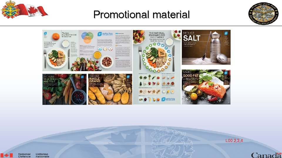 Promotional material L 00 2, 3, 4