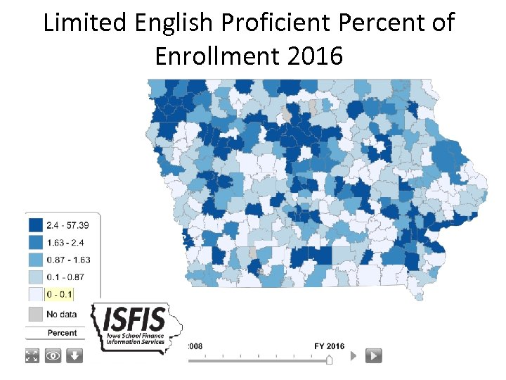 Limited English Proficient Percent of Enrollment 2016 33
