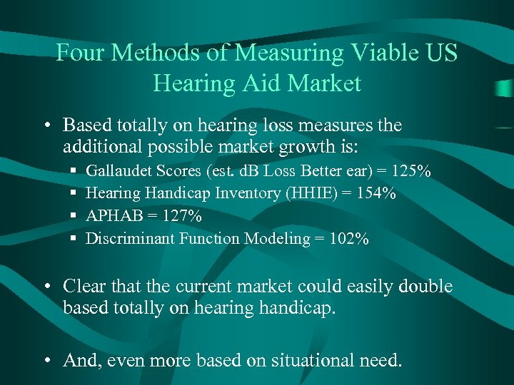 Four Methods of Measuring Viable US Hearing Aid Market • Based totally on hearing