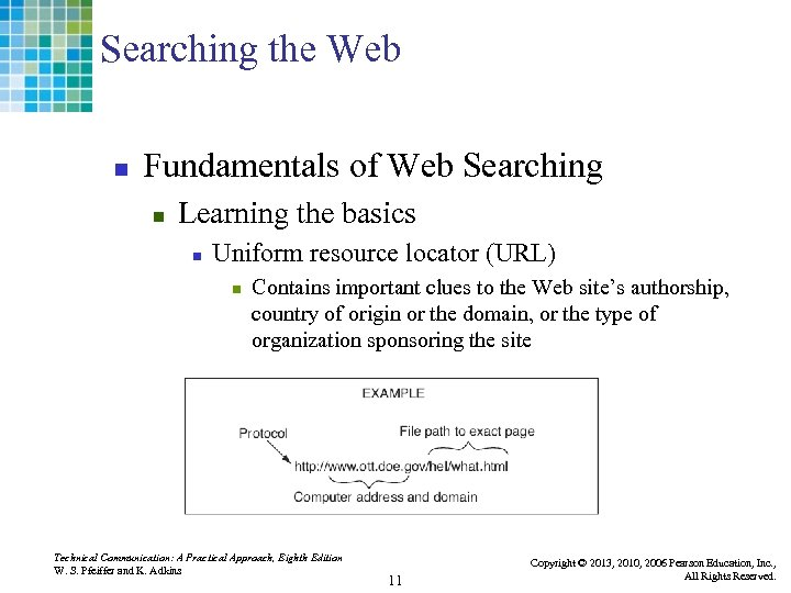 Searching the Web n Fundamentals of Web Searching n Learning the basics n Uniform