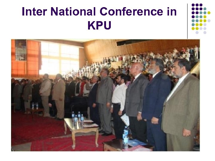 Inter National Conference in KPU