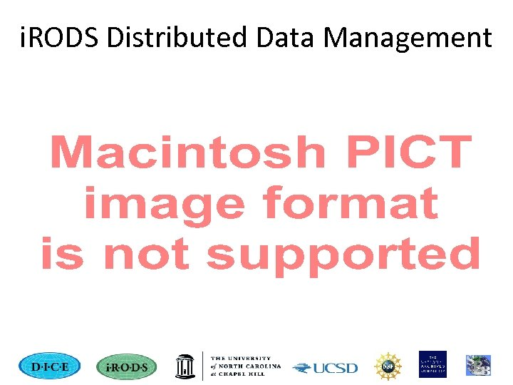 i. RODS Distributed Data Management