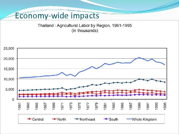 Economy-wide impacts 19