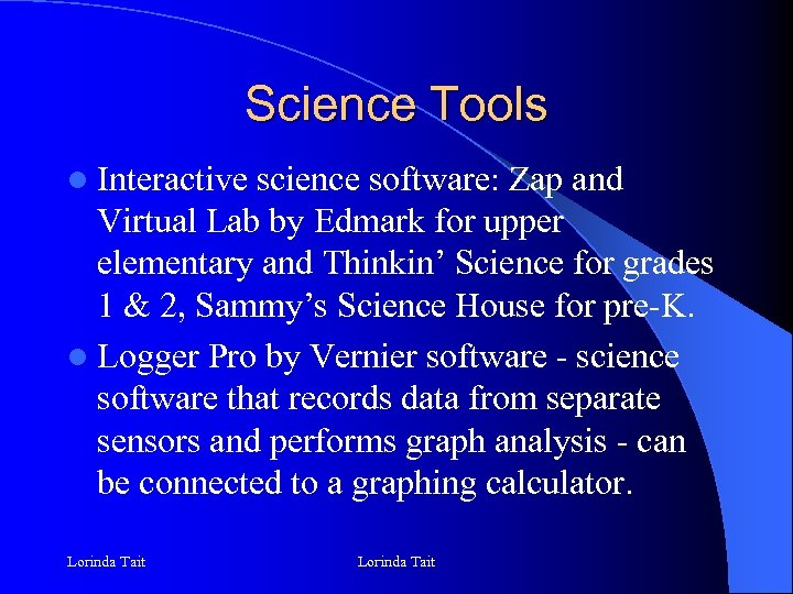 Science Tools l Interactive science software: Zap and Virtual Lab by Edmark for upper