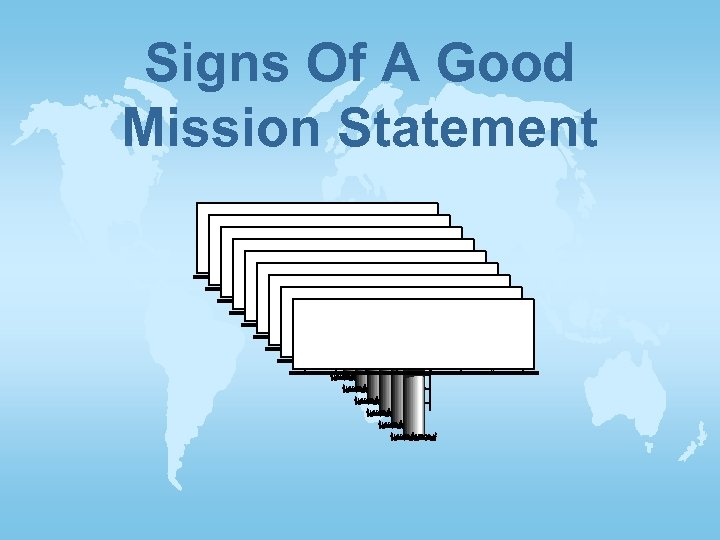 Signs Of A Good Mission Statement