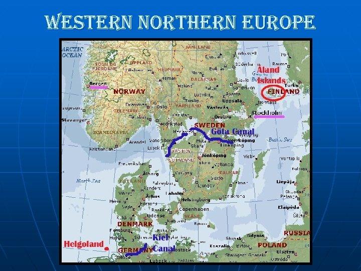 western northern europe