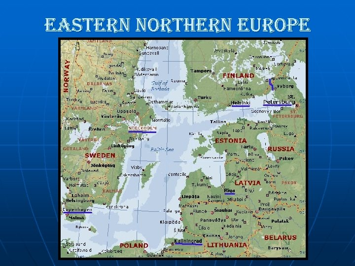 eastern northern europe