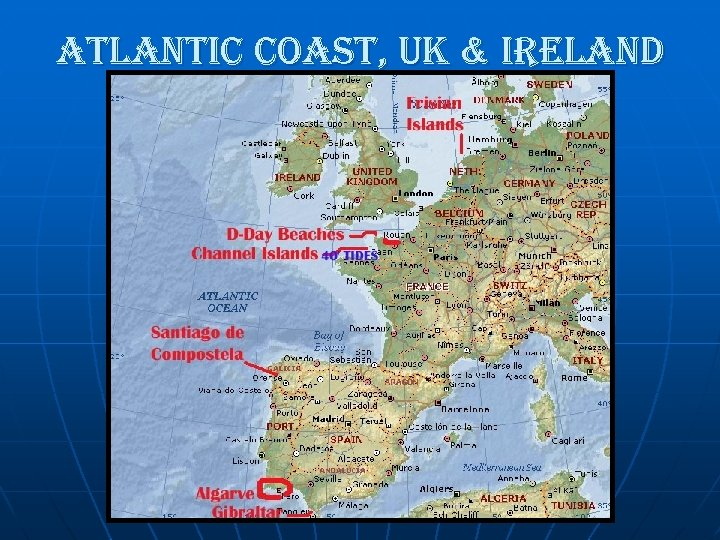 atlantic coast, uk & ireland
