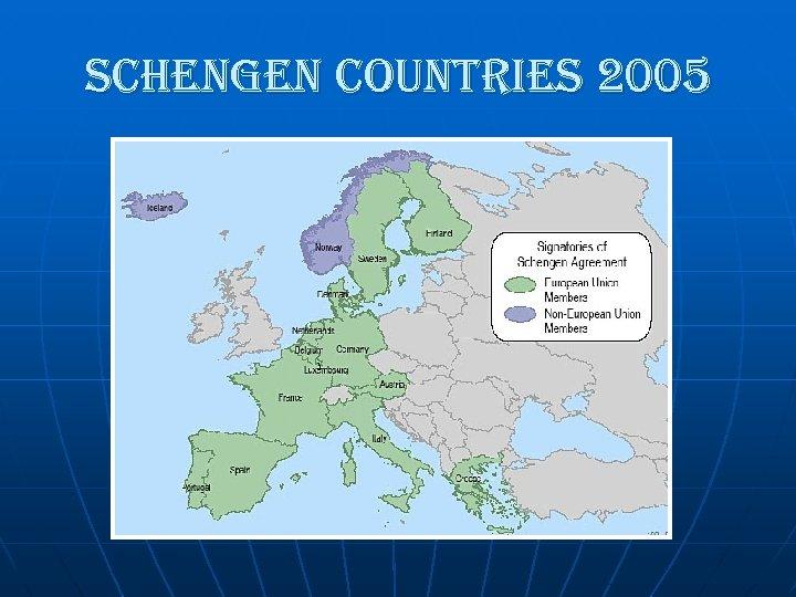 schengen countries 2005