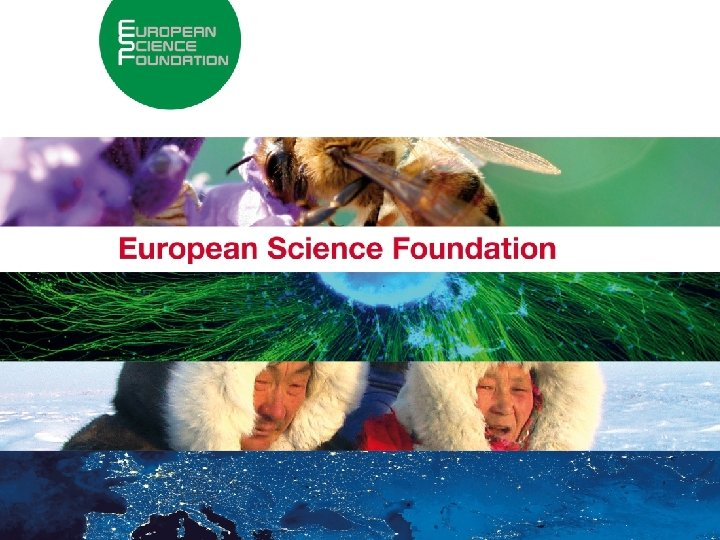 1 About the European Science Foundation