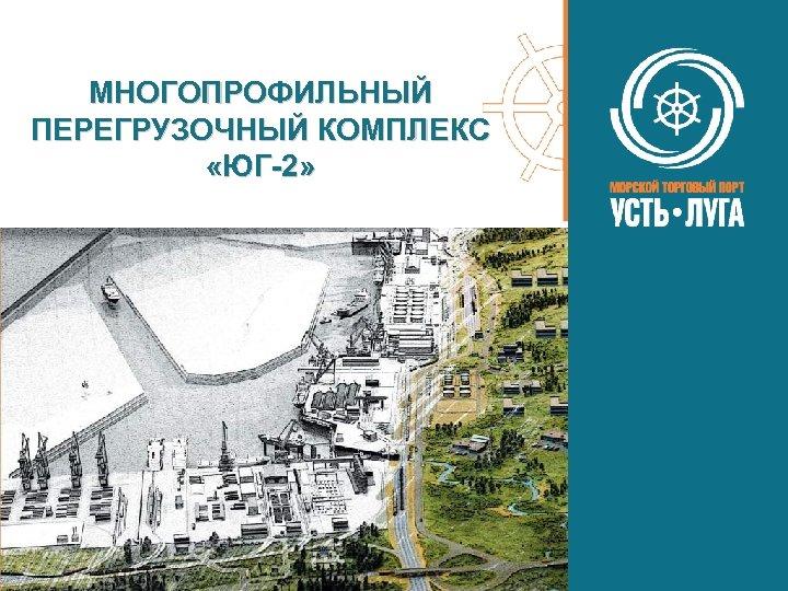 МНОГОПРОФИЛЬНЫЙ ПЕРЕГРУЗОЧНЫЙ КОМПЛЕКС «ЮГ-2»