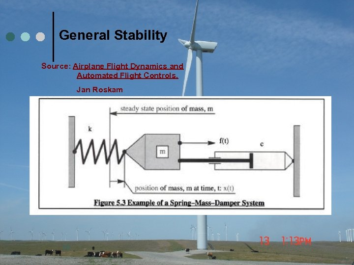 General Stability Source: Airplane Flight Dynamics and Automated Flight Controls, Jan Roskam 29
