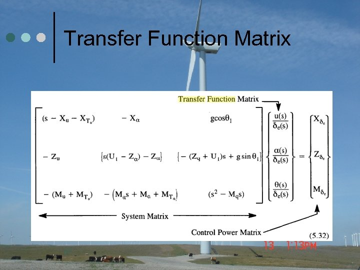 Transfer Function Matrix 37