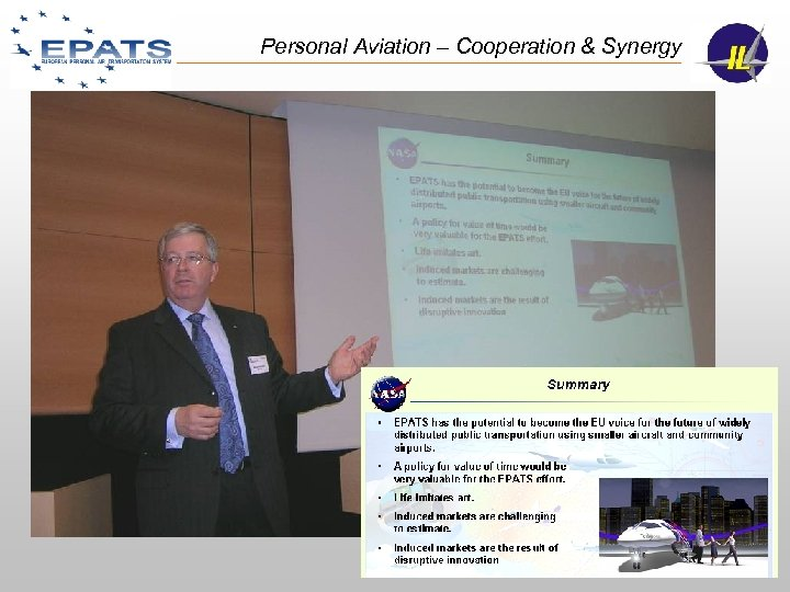 Personal Aviation – Cooperation & Synergy