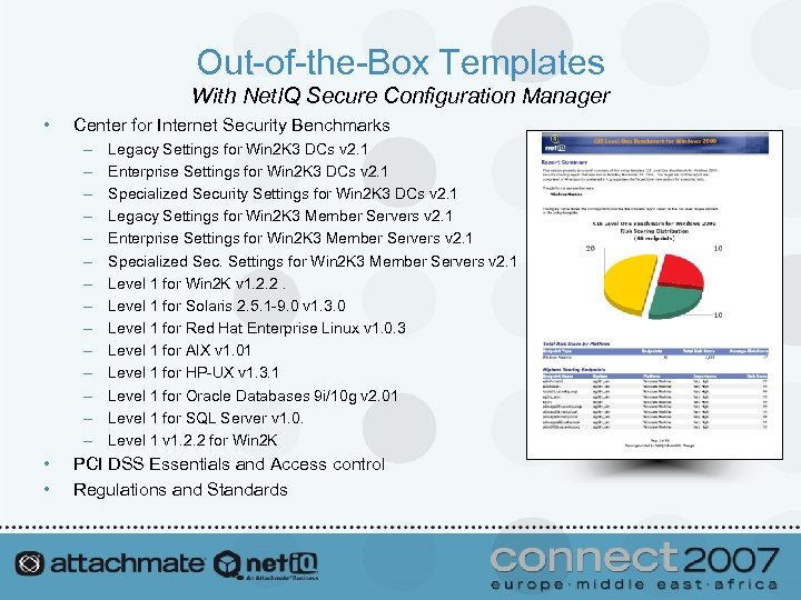 Out-of-the-Box Templates With Net. IQ Secure Configuration Manager • Center for Internet Security Benchmarks