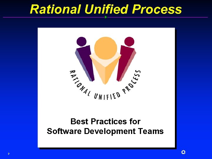 Rational Unified Process Best Practices for Software Development Teams p R