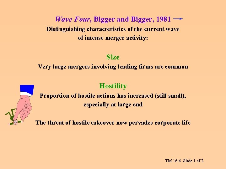 Wave Four, Bigger and Bigger, 1981 Distinguishing characteristics of the current wave of intense